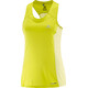 Salomon W's Agile Tank sulphur spring/wax yellow